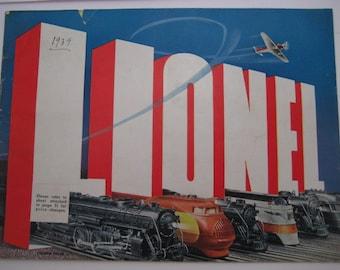 Vintage Lionel Trains 1938 Catalog
