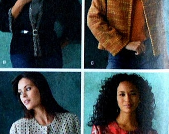 Jacket Sewing Pattern UNCUT Simplicity 4328 Sizes 14-22