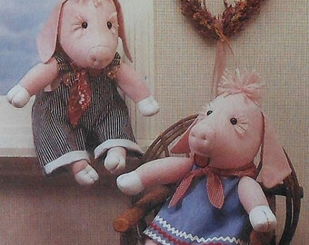 Pig Doll Sewing Pattern UNCUT Simplicity 9228