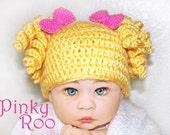 Crochet baby hat / Goldilocks crochet baby hat / girl hat / baby girl / hat for babies / Halloween hat