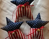 Handmade Patriotic Star Bowl Fillers or Tucks