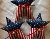 Patriotic Star Bowl Fillers or Tucks