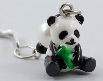 Panda Bear Mini Bookmark, Mini Book Charms, Travel Size Gift, Stocking Stuffers Kids Party Favors, Teacher Appreciation Week, Free Shipping