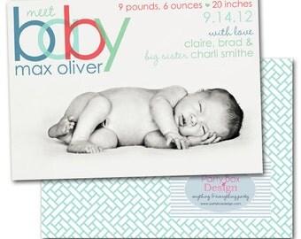 Birth Announcements: You Pick Design