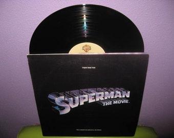 SHOP CLOSING SALE Vinyl Record Album Superman Original Soundtrack Double Lp 1978 John Williams Classic