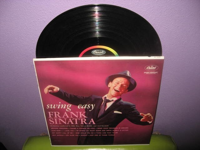 Vinyl Record Album Frank Sinatra Swing Easy Lp 1954 Crooner