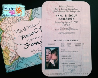 Passport Invitation Printable by Rule42