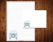 Letter Writing Stationery Set - VW van