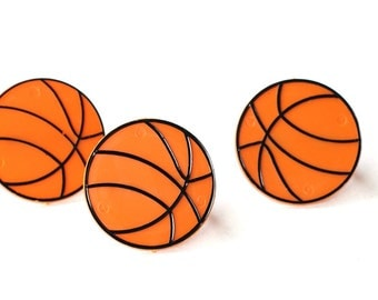 Basketball Cupcake Toppers (set of 12)
