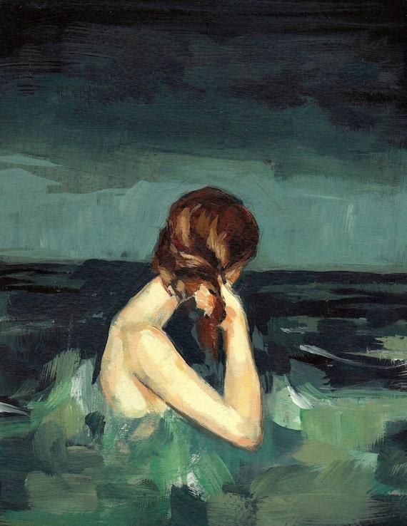 Married to the Sea . giclee art print
