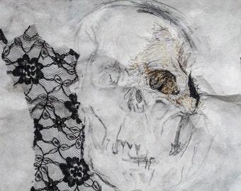 original Skull artwork