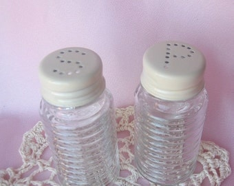 Cottage Cream Salt and Pepper Shakers