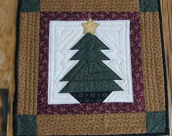 Christmas Wall Hanging,  Candle Mat, or Table Topper