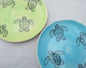 Loggerhead Sea Turtle Hatchling Plate