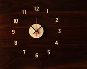 """12"""" Wall Clock (available in Walnut and Cherry)"""