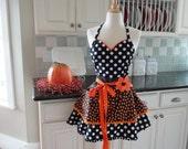 Candy Corn   ~Women's Halloween Apron  ~ 4RetroSisters