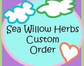 Custom Order for - CPN 1374 - Rose Citrus Toner 2 oz - Herbal Lip Balm Pot