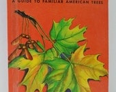 TREES A Guide to Familiar American Trees VINTAGE Book 1952