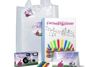 I'm The Big Sister Gift Bag -- full of goodies -- ENCHANTED PRINCESS --  - can be PERSONALIZED -- big sister gift, camera photo album