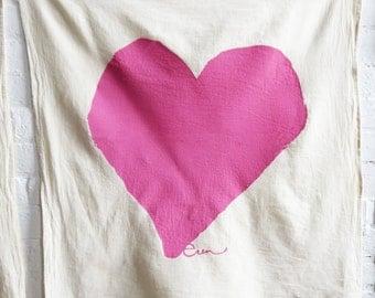 Tea Towel Heart