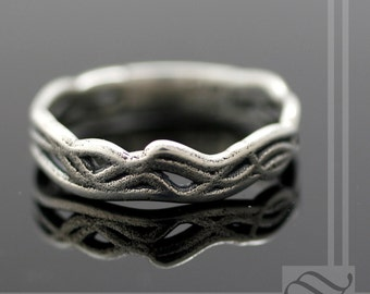 Rope Band -Sterling silver