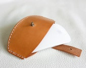 Handmade Leather magic mouse case - made to order
