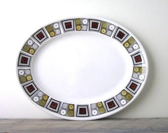 Kathie Winkle Ironstone Platter RUSHSTONE