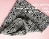 Tres Chic Ladies Cowl Infinity Scarf Crochet Pattern No.512 Digital Download ePattern