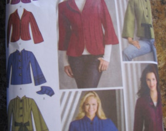 Easy to Sew  Misses Jacket and Hat   Simplicity 3563