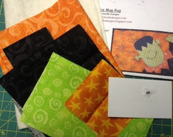 Frankie Mug Mat Kit with Pattern