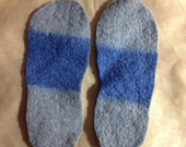 Thick felted shoe insole inserts For men women children using Upcycled wool Sweater Best Insole for out doors