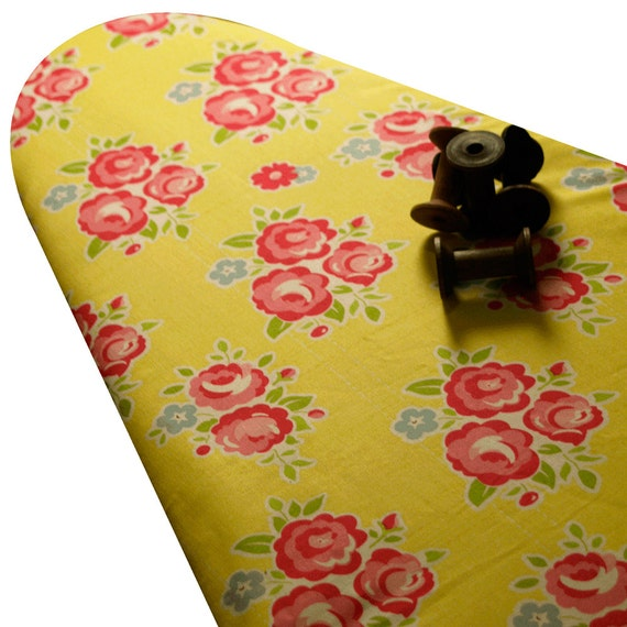 ironing board cover retro red
