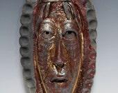 African Raku Mask number 15