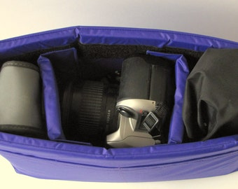PreOrder Camera Bag Insert  - Adjustable Dividers  - Custom Sizes & Color