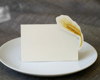 Barley - Wedding Place Card - Gift Card - Table Number Card - Menu Card -weddings events