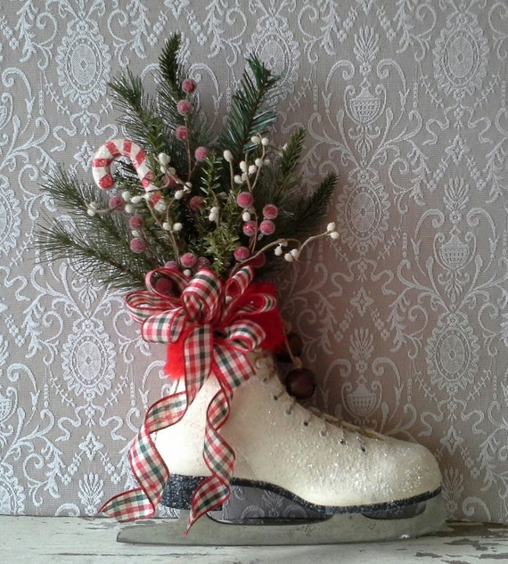 Etsy your place to buy and sell all things handmade vintage and supplies - Admirable christmas wreath decorating ideas to welcome the december ...