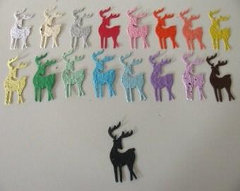 25 Seed Paper Reindeer