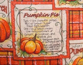 Decorative Fall Pumpkin Halloween Pillow cover, Toss Pillow, Accent Pillow, Throw Pillow, Pillowcase - Fits 14x14 inch form