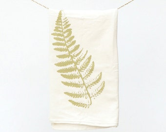 Fern Towel : Flour Sack Kitchen Tea Towel for the Home