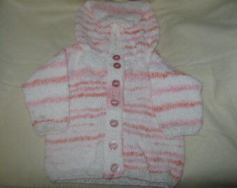 a childs hooded coat 18-20in chest