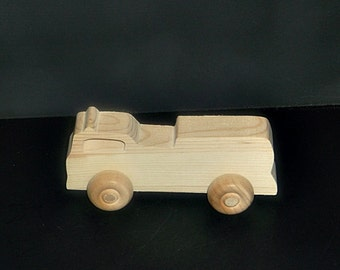 Birthday Party Pack 20 Handcrafted Wood Toy Fire Trucks BP-159BH-U  unfinished or finished