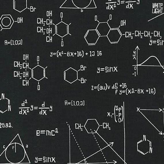 Illustration Ink from Science Fair Robert Kaufman 1+ Yard Cotton Fabric