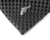Gun Pin - Mens Tie Pin Tack - Gun Tie Clips Men - Tie Tack Pin - Tie Tac Pin - Hunting Gifts For Men