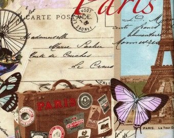 Paris Antiques - Timeless Treasures - 1 yard - More Available - BTY
