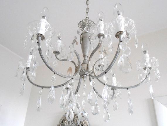 Lampadari in cristallo offerte e risparmia su ondausu for Lampadario shabby chic