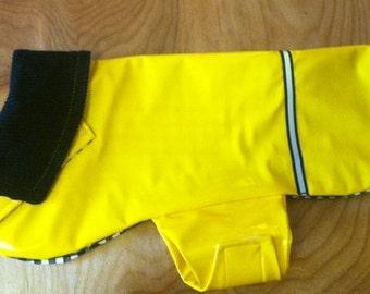 New Yellow Dog Rain Jacket, Dog Rainjacket, Dog Coat, Dog Jacket, Dog Jackets