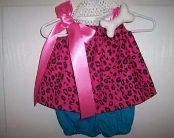 Pebbles Costume Hot Pink Infant through size 3 Girls Baby Toddler with bone and with or without crochet headband