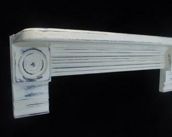 Handmade Cottage Chic Bullseye Shelf