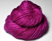 Electric light purple - Silk/Cashmere Fine Lace Yarn