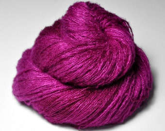 Electric light purple - Silk/Cashmere Fine Lace Yarn